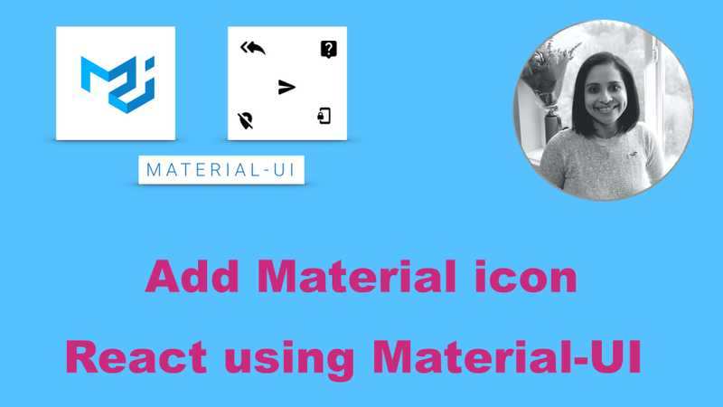 How To Add Material Icon To React App With Material Ui Bonsaiilabs